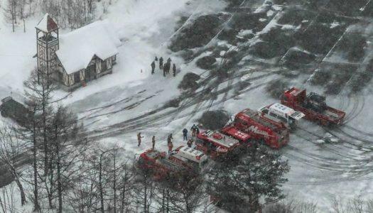 Erupção de vulcão provoca avalanche e deixa um morto e 10 feridos no Japão