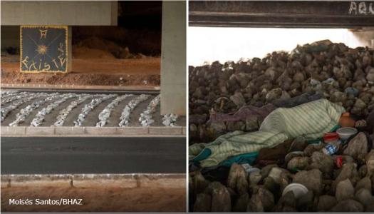 PBH ʽinstala' pedras debaixo de viadutos e evita moradores de rua em projeto com orçamento de R$ 1,8 milhão